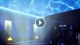 Lampada rilassante che proietta l'Oceano sui muri della vostra casa