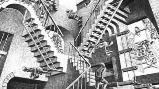 M.C. ESCHER, un monumento della creatività del genere umano.