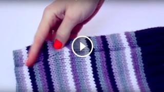 Realizzare cappello, sciarpa e guanti da un maglione di lana