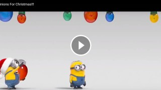 Minions For Christmas!!!