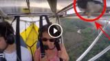 E' successo mentre erano in volo, guardate il video non crederete ai vostri occhi!