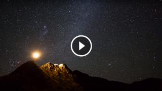 L'arte della notte. Un video da togliere il fiato.