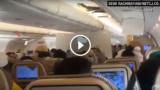 Panico a bordo dell'Airbus ETIHAD: un passeggero ha ripreso pianti e urla