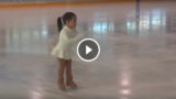 La pattinatrice più piccola e carina del mondo!