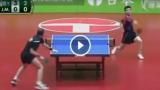 La partita di ping pong  più divertente della storia