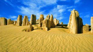 Arrivano fino a quattro metri le misteriose formazioni rocciose del Deserto dei Pinnacoli