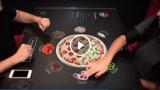 Il tavolo del futuro per ordinare la pizza