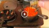 L'arte del cucinare in miniatura sta spopolando in tutto il mondo