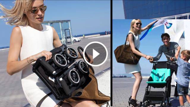 Il passeggino pieghevole più piccolo al mondo, che puoi mettere nella borsa