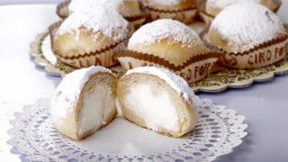 Ricetta dei famosi Fiocchi di Neve (Nuvole) della pasticceria Poppella di Napoli