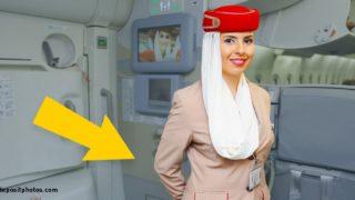 Perché il personale di bordo tienele braccia dietro la schiena quando saluta i passeggeri?