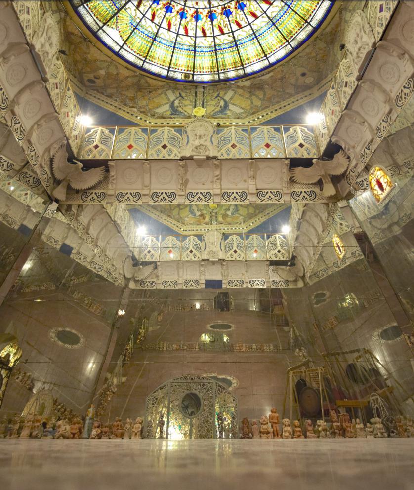 Damanhur il tempio sotterraneo pi grande del mondo - Sala degli specchi ...