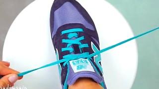 Il Trucco geniale per allacciarsi le scarpe in 1 secondo