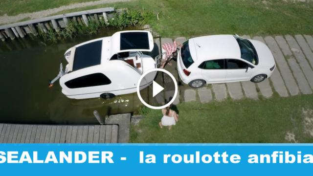 Sealander: la roulotte che viaggia anche sull'acqua