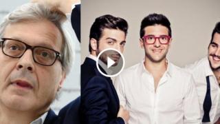 SONDAGGIO: Stai con Il Volo o con Vittorio Sgarbi? Clicca per votare