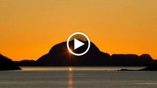 Il sole nel buco della montagna: un'inquadratura inseguita per 3 anni