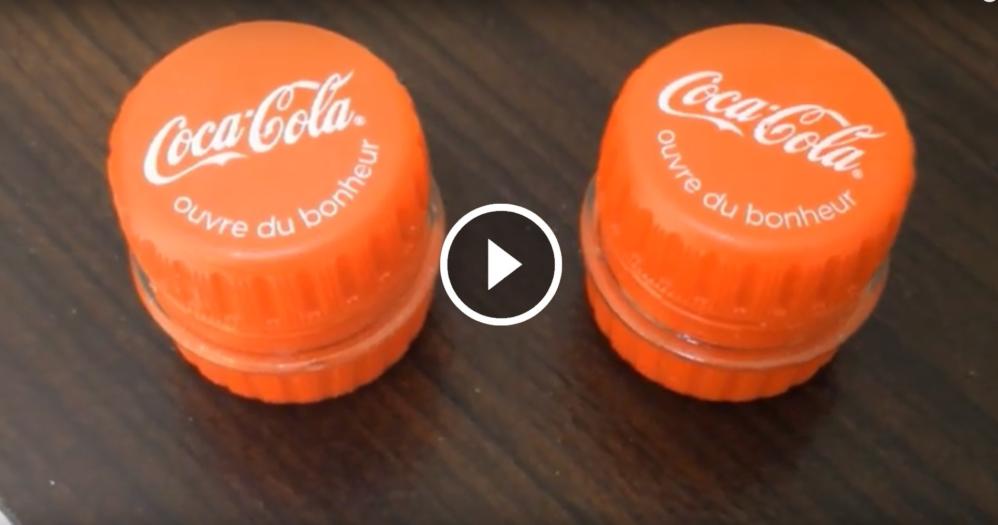 design di qualità autentico migliore vendita Piccoli contenitori fatti con i tappi delle bottiglie di ...