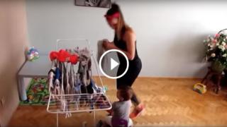 Come allenarsi mentre si fanno i lavori di casa