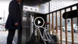 Parcheggio sotterraneo per biciclette automatico a Tokyo