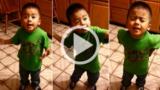 Adorabile bimbo di 3 anni che vuole un cupcake :-)