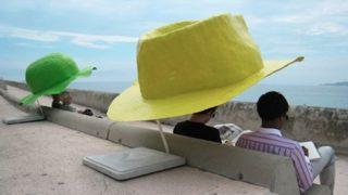 La corniche des chapeaux – Quando l'arte è anche utile