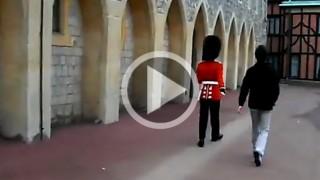 Ecco cosa succede se si tocca una Guardia Reale