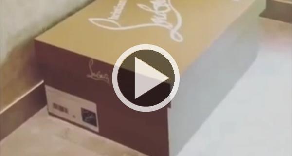 scatola louboutin