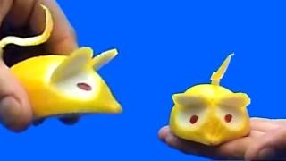 Come fare un simpatico topolino con un limone
