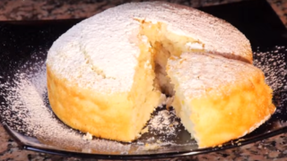 Torta all'Acqua: Senza Burro,  Senza Uova,  Senza Latte