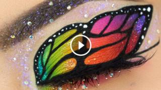 Meravigliose esecuzioni di straordinari Makeup per gli occhi