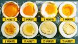 Ecco finalmente i tempi giusti per cuocere l'uovo sodo ideale