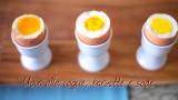 Come preparare le uova alla coque, barzotte e sode